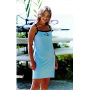 Φόρεμα παραλίας με ράντες